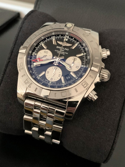 Breitling Chronomat Gmt 44 B04 - Impecável C Documentos