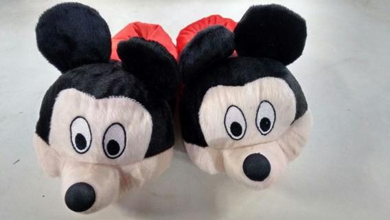 Pantufa Do Mickey Do N.20 Ao N.43 Macia E Confortável