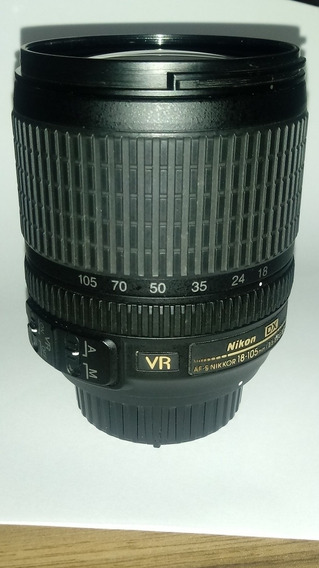 Lente Nikon 18-105 Super Conservada