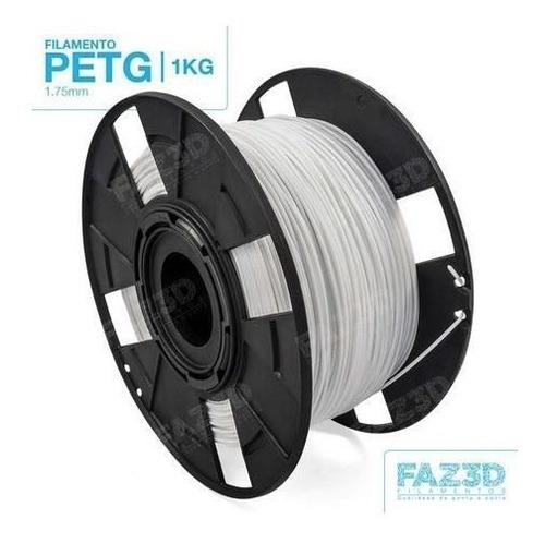 Filamento Tritan 1,75 Mm | 1kg | Branco - Faz3d