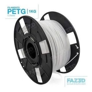 Filamento Tritan 1,75 Mm   1kg   Branco - Faz3d