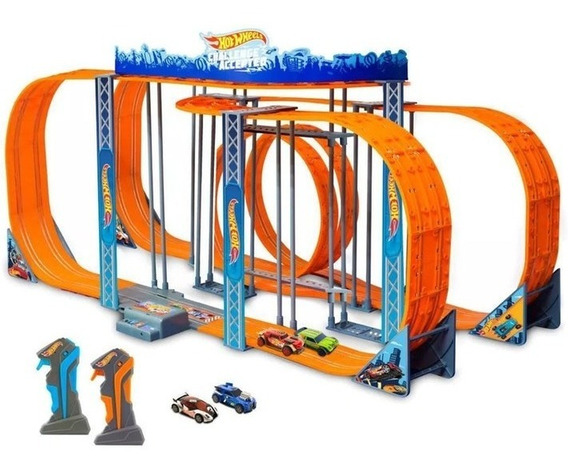 Pista Hot Wheels Track Set Zero Gravity Autorama 1300cm