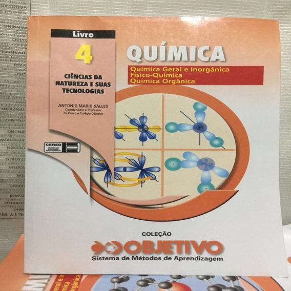 Coleção Objetivo Apostila De Quimica 4.