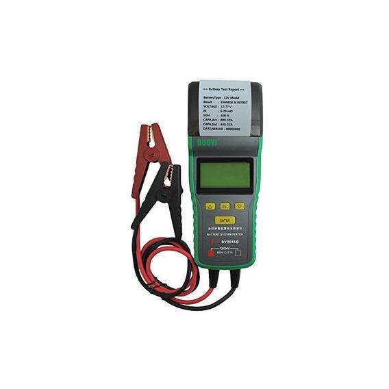 Probador Automotriz De La Batería Dy2015c Con La Impresora 1