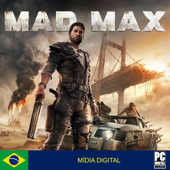 Mad Max Pc Original Envio Digital Imediato!