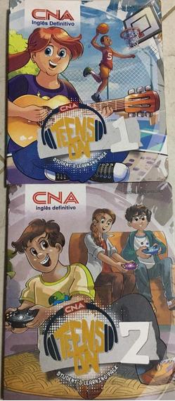 Kit Com 2 Livros Infantis Cna Em Boas Condições De Uso.