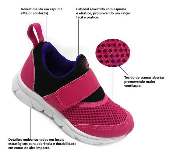 Kit 2 Pares Tenis Infantil Masculino Feminino Vv1020