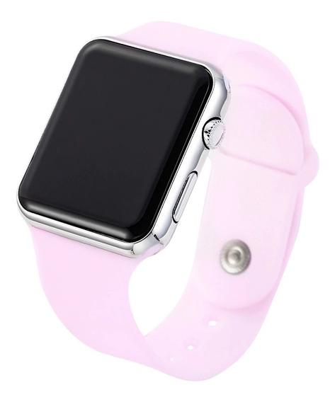 Relógio De Pulso Digital Led Masculino Feminino- Super Preço