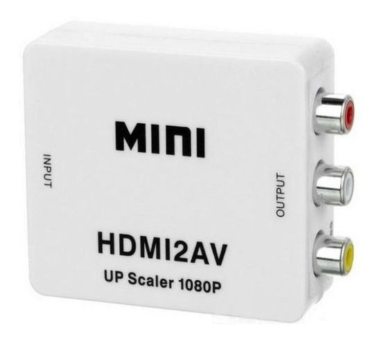 Conversor De Av P/ Hdmi - Hd Vídeo Converter Full Hd