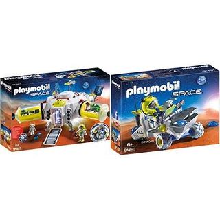 Playmobil 9487 Spielzeug-mars-estación Y 9491 Spielzeug-ma