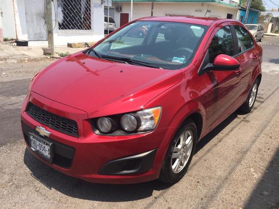 Dm Chevrolet Sonic 1.6 Ls L4 Man At 2015 Color Rojo