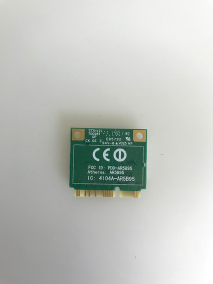 Placa De Rede Wireless Do Netebook Acer