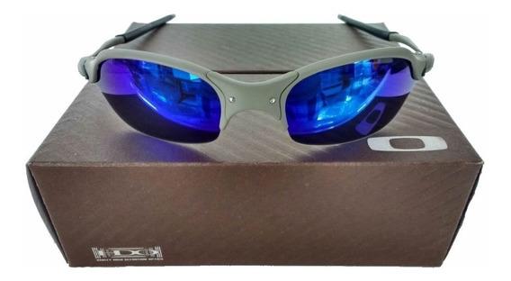 Oculos Oakley Romeo 2 Xmetal Lente Azul Escuro Penny Juliet