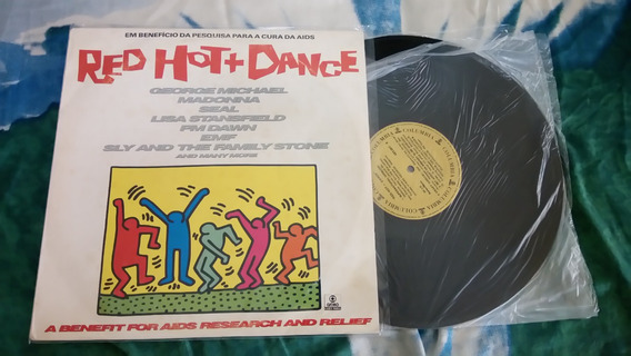 Lp Red Hot + Dance -1992 (vários) Madonna Supernatural