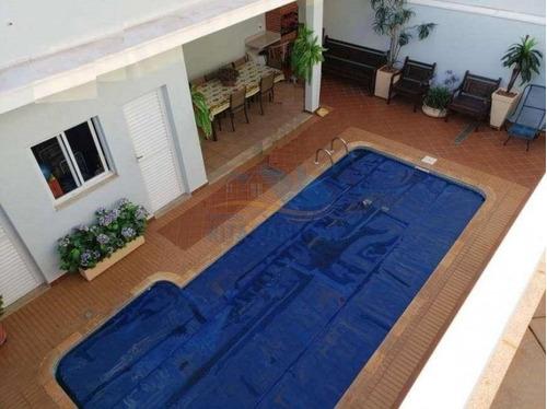 Imagem 1 de 15 de Casa Sobrado, Residencial Flórida, Ribeirão Preto - C4556-v