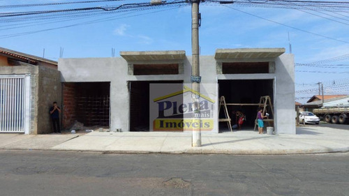 Salão  Comercial Para Locação, Parque Residencial Virgílio Basso, Sumaré. - Sl0350