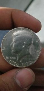 Moneda Liberty In God We Trust Jonhn Kennedy 1776 A 1976