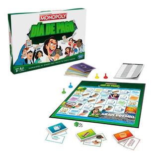 Monopoly Dia De Pago Juego De Finanzas Administración Dinero