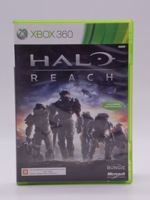 Halo Reach Xbox 360 E Xbox One Original Mídia Física