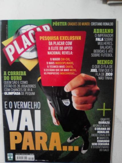 Revista Placar 1316 P Cristiano Ronaldo São Paulo Inter 2008