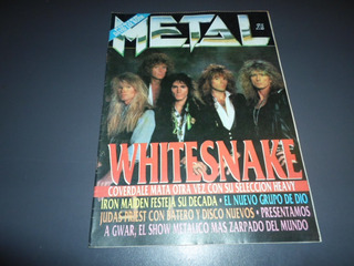 Metal 136 Whitesnake Skid Row Dio Iron Maiden Hermetica Kiss