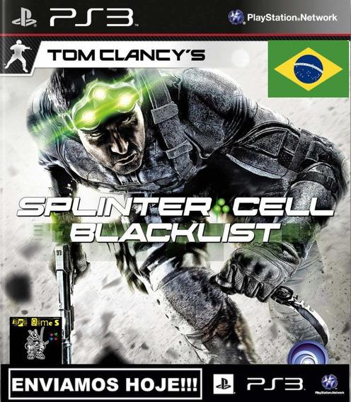 Tom Clancys Splinter Cell Blacklist Jogos Ps3 Original