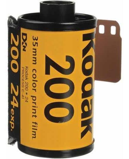 Kodak 200 35mm Color Print Film.