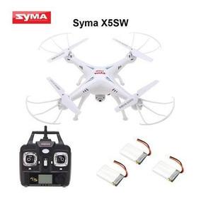 Drone Syma X5-sw Fpv Camera Original Com 3 Baterias Novo!