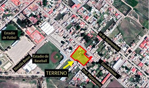 Imagen 1 de 10 de Terreno En Polotitlán En Venta O Renta 3,825 M²