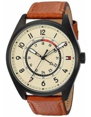 Reloj Tommy Hilfiger 17911372 Piel Café / Negro