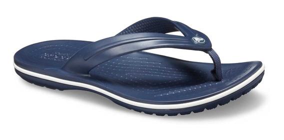 Sandalia Crocs Unisex Crocband Flip Gs Azul Marino