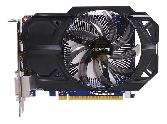 Placa De Vídeo Nvidia Geforce Gtx 750ti 2gb Rodatudo Brinde