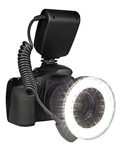 Flash Led Macro Circular Canon Eos T3i T5i 7d 5d 550d 1000d