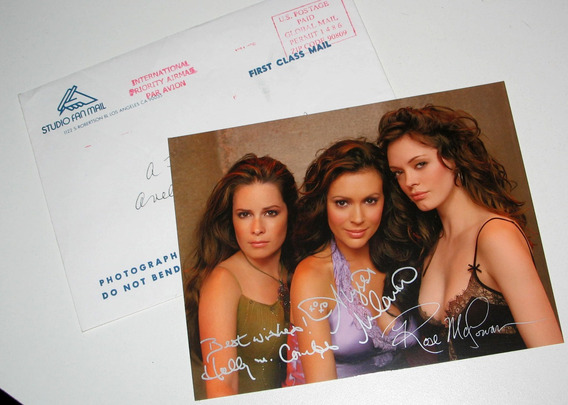 Postales Studio Fan Mail Jennifer Aniston Alexis Bledel Char