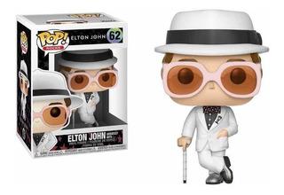Funko Pop - Elton John - Original - Número 62 - Pop!
