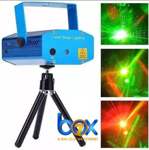 Refletor Laser Para Festas E Decorativo De Natal