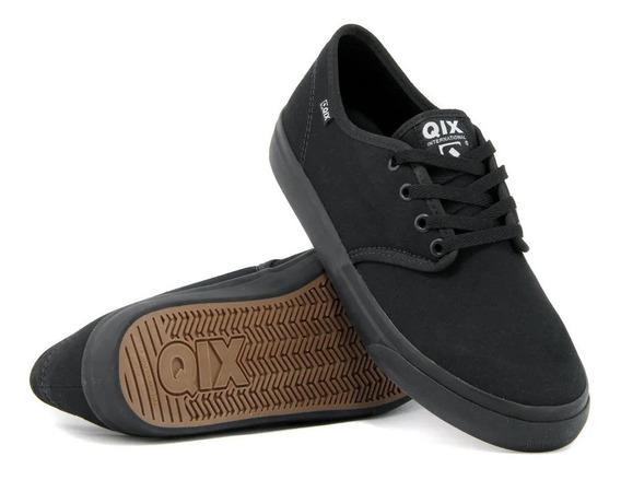 Tênis Qix Skate Nb Preto Masculino Feminino Casual Original Promoção Envio Imediato