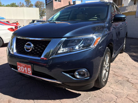 Nissan Pathfinder 3.5 Advance Mt 2015 Azul Grafito Hangar