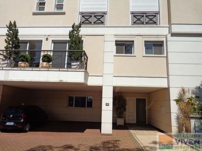 Casa Em Condomínio Muito Bem Localizada No Bairro Da Cidade Jardim, Com Saída Para O Bairro E Pela M - Nm4896