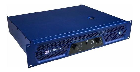 Amplificador De Potência Crown 950w T7 220v Com 2 Canais
