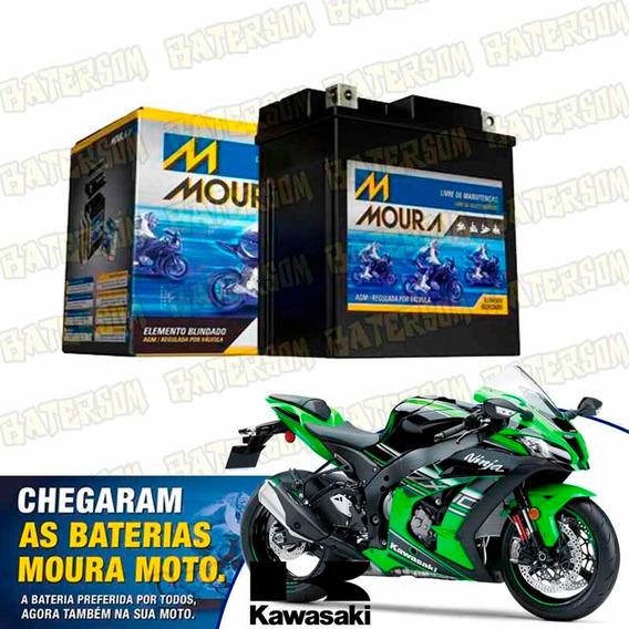 Bateria Moura Moto 11ah Kawasaki Ninja Zx-10