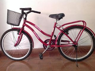 Bicicleta R24 Barbie Princesas Para Niña