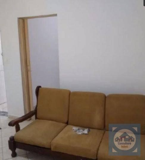 Casa Com 1 Dormitório À Venda, 80 M² Por R$ 230.000 - Gonzaguinha - São Vicente/sp - Ca0900