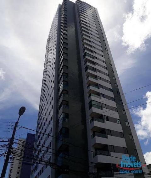 Apartamento Com 3 Dormitórios À Venda, 65 M² Por R$ 470.000,00 - Madalena - Recife/pe - Ap3727