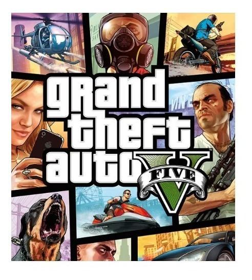 Grand Theft Auto V Gta 5- Pc-dvd- (midia Fisica) Off Line