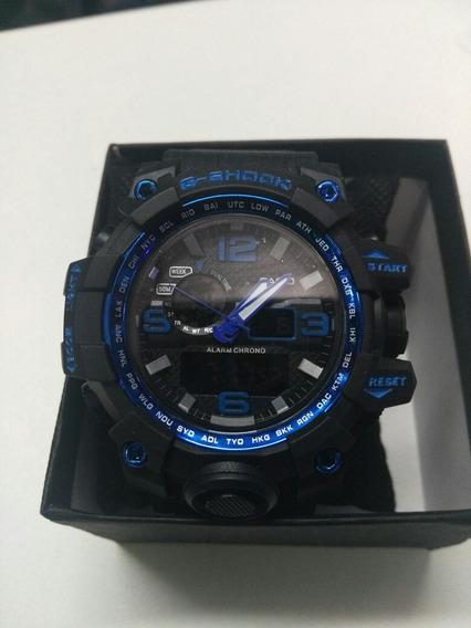 Reloj G-shok Casio Lodo Agua Golpes Dual Time Luz Cronómetr