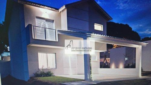 Imagem 1 de 24 de Casa Com 3 Dormitórios À Venda, 157 M² Por R$ 750.000,00 - Condomínio Residencial Lumiere - Sorocaba/sp - Ca2027
