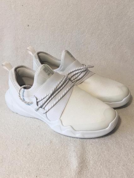 Zapatillas De Hombre Nuevas Blancas Talle 39/40 Skechers Dlt
