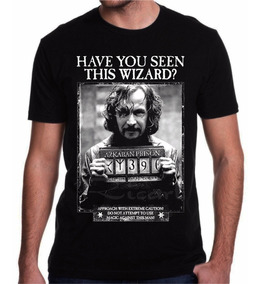 Camiseta Harry Potter Sirius Black Azkaban Filme Livro