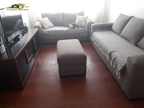 Imagem 1 de 17 de Apartamento A Venda No Bairro Vila Moinho Velho Em São - Ap391-1